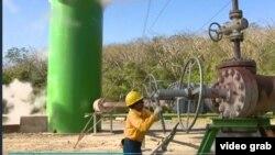 Salah satu sumber energi panas bumi Kosta Rika (Photo: Videograb/Kevin Enoch report)
