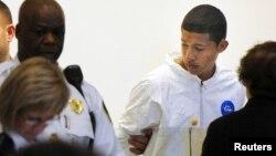 Philip Chism, de 14 años, es presentado en la corte como sospechoso del asesinato de una maestra de Danvers, en Massachusetts.