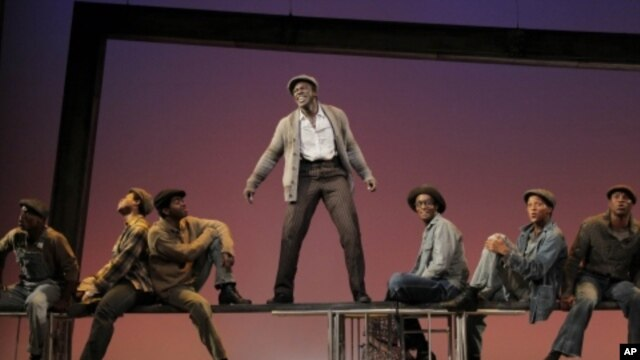 'The Scottsboro Boys' is a Broadway muscial which recounts the 1930s case in which nine African-American teenagers were unjustly accused of raping two white women in Alabama.