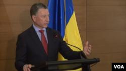 Курт Волкер на прес-конференції в Києві