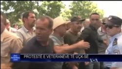 Protesta ish luftëtarët e UÇK-së