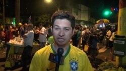 Vila Madalena poseída por los fans del Mundial