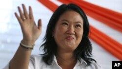Keiko Fujimori, putri mantan Presiden Alberto Fujimori (foto: dok).