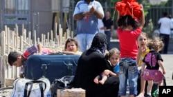 Sirijske izbeglice na turskoj granici