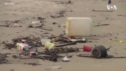 淹死在我们自己的塑料垃圾中