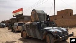 Abasirikare ba Iraki bariko barakizura Fallujah inyuma yaho birukaniye umuhari wa reta ya Kiyisilamu