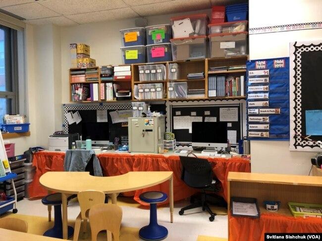 Робочі місця вчителів