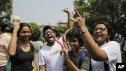 Indians celebrate