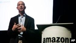 Le fondateur d'Amazon Jezz Bezos