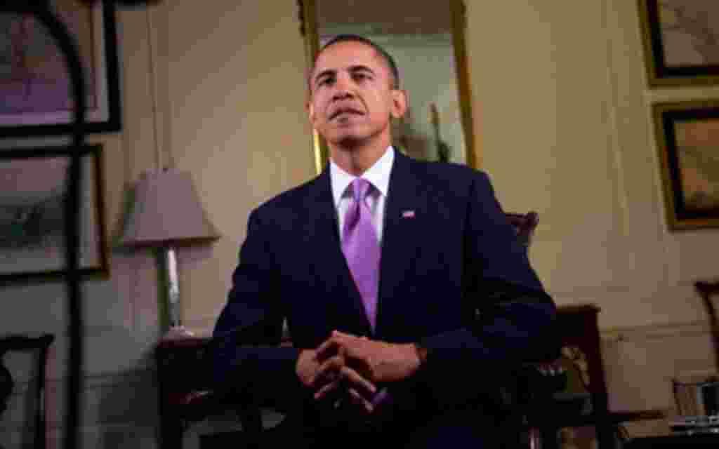 Barack Obama, Weekly Address 103010, White House