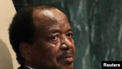 Presidente camaronês Paul Biya