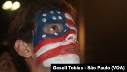Američki navijač u Brazilu