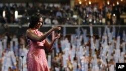 Mme Michèle Obama à Charlotte