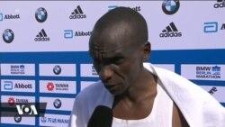 Eliud Kipchoge aweka rekodi mpya ya Marathon