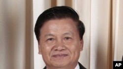 Thongloun Sisoulith, Deputy Prime Minister and Minister of Foreign Affairs of the Lao People's Democratic Republic (file photo)