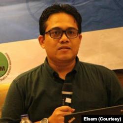 Direktur Eksekutif Lembaga Studi dan Advokasi Masyarakat (ELSAM) Wahyudi Djafar. (Foto: Courtesy/Elsam)