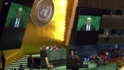 2018-09-26 美國之音視頻新聞: 聯合國大會週三繼續大會議程