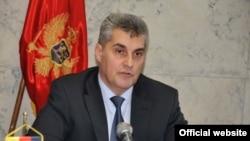 Predsjednik Skupštine Crne Gore Ivan Brajović