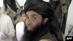 تحریک طالبان پاکستان کا سربراہ ملا فضل الله (فائل فوٹو)
