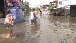 2011-10-22 粵語新聞: 泰國總理﹕洪水需至少一個月才能退去
