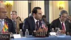 Controversia entre EEUU y Vzla. a horas de voto en OEA