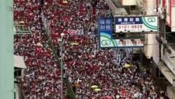 香港民阵召集人旺角遇袭 民主派谴责图谋激化暴力破坏区选