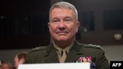 Amerika Merkez Komutanlığı Şefi Korgeneral Kenneth F. McKenzie Jr.