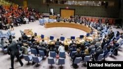 지난 8일 뉴욕 유엔본부에서 터키군의 시리아 쿠르반군 공격과 관련해 안보리 회의가 열렸다.
