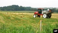 FILE - The House Appropriations Committee recently approved a provision that would bar Chinese companies from owning more U.S. farmland than they already possess.