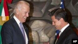 El vicepresidente Joe Biden conversó con Enrique Peña Nieto sobre Cuba.