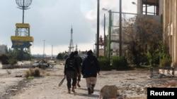 Chiến binh nổi dậy tại tỉnh Tây Bắc Idlib, Syria, ngày 15/12/2014.