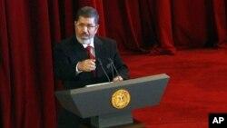مصر کے نومنتخب جمہوری صدر محمد مرسی
