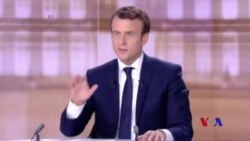 法國總統候選人電視辯論火爆 (粵語)