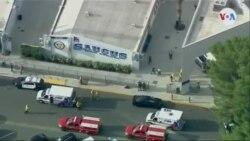 Imágenes aéreas de la escuela de Santa Clarita donde se produjo el tiroteo