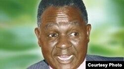 Mwanasiasa na mwanaharakati wa kutetea demokrasia ya vyama vingi nchini Kenya Kenneth Matiba.