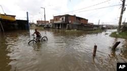 巴西洪災影響嚴重。
