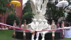 Makna Patung Dewi Saraswati dan Masjid Indonesia