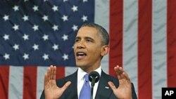 Predsjednik Barack Obama pred oba doma Kongresa drži govor o svom planu za nova radna mjesta 8. rujna 2011.