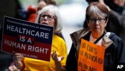 У Денвері протестують проти республіканського законопроекту з охорони здоров'я