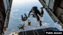 Skydiving is the sport of jumping from an airplane and falling through the sky before a parachute opens. But there's no way some would try it.