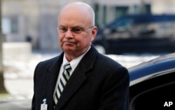 "FILE - Former CIA Director Michael Hayden, shown in Munich on Feb. 3, 2012, suspects WikiLeaks may be ""acting as an arm, as an agent of the Russian Federation,"" he told CNN on Wednesday."