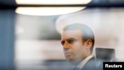 Эммануэль Макрон в период предвыборной кампании