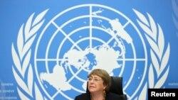Michelle Bachelet ni komiseri mukuru w'ishami rya ONU ryita ku burenganzira bwa muntu