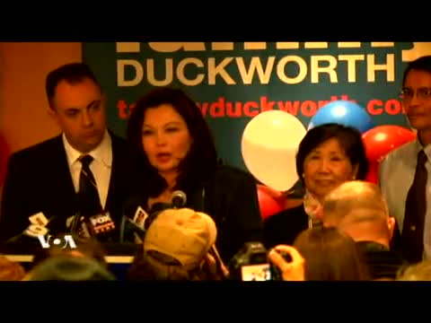 Tammy Duckworth has won the Congressional
