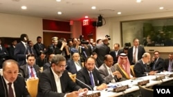 Prime Minister Khaqan Abbasi attending OIC Contact Group's meeting in NY Tuesday.