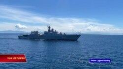 Hải quân Việt-Ấn tập trận trên Biển Đông