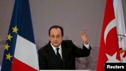 Francois Hollande Galatasaray Üniversitesi'nde yaptığı konuşma.