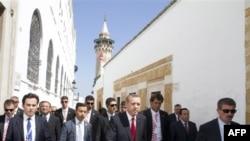 Başbakan Erdoğan Tunus'da