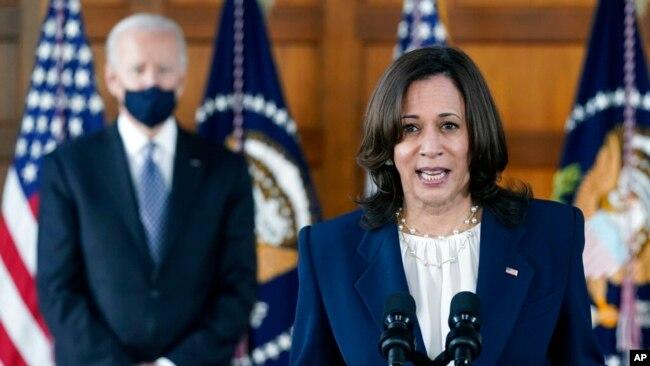 Nënpresidentja Kamala Harris flet në Atlanta