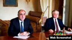 Azərbaycan və Ermənistan xarici işlər naziri görüşüb